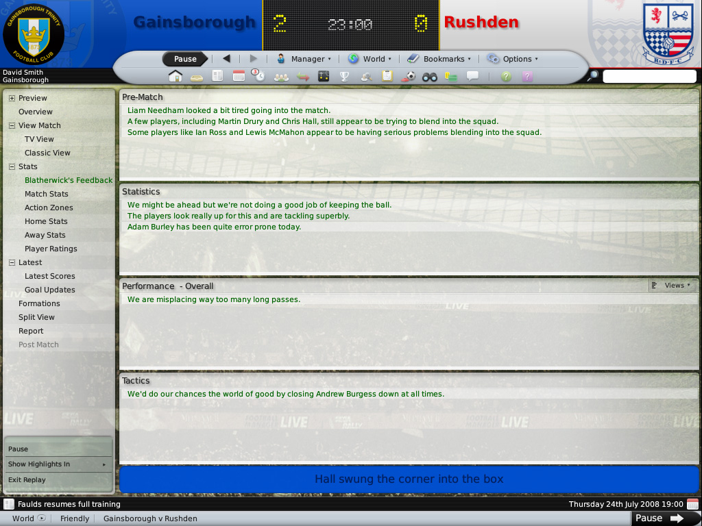Football Manager 2009 (RePack) (2008) PC.